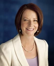 Julia Gillard - 1st Female Prime Minister of Australia
