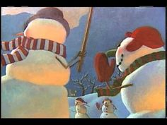 ▶ Snowmen At Night - YouTube Think I'll show it with the volume turned down. Then they can write about what they think they do!