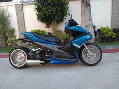 Yamaha Scooter, Bike, Scooter Custom, Motor Scooters, Motorcycle, Cars, Vehicles, Motorbikes, Bicycle