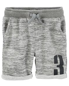 Kid Boy French Terry Varsity Shorts from OshKosh B'gosh. Shop clothing & accessories from a trusted name in kids, toddlers, and baby clothes.