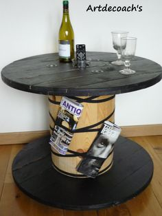 Table bobine                                                                                                                                                      Plus