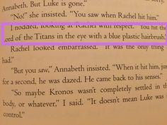 Percy Jackson ladies and gentlemen.