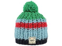 Barts Colton beanie in blue, red and green for boys | www.eb-vloed.nl