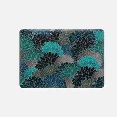 "Casetify Macbook Pro 15"" (2016 - 2017) Macbook Snap Case - Hydrangea Haven Emerald by Adrien Marie Design"