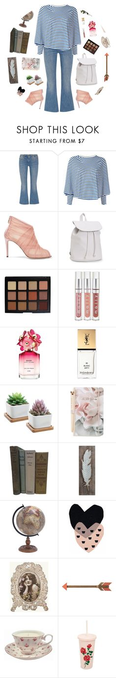 """""""Stay true to you and you will end up incredibly happy"""" by victoria-pittore ❤ liked on Polyvore featuring M.i.h Jeans, MM6 Maison Margiela, Dolce&Gabbana, Aéropostale, Morphe, Marc Jacobs, Yves Saint Laurent, Ted Baker, Creative Co-op and ban.do"""