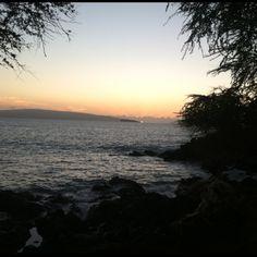 Paradise after sunset Maui