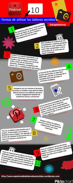 Formas de utilizar los tableros secretos de Pinterest