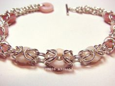 #Chainmaille Bead #Bracelet