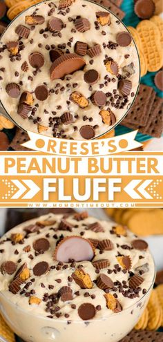 Reese's Peanut Butter Fluff recipe is an easy no-bake dessert you should totally make for the holidays or special occasions! It is also great as a dip perfect for family gatherings, BBQs, or game… More