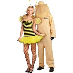 Honey Bee and Keeper Couples Costumes
