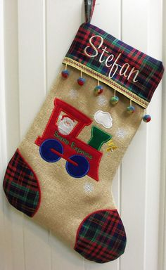 Personalized Christmas Stockings Custom Made by CustomMadeByPam