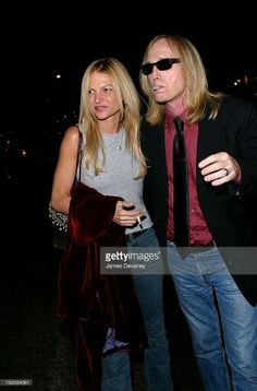 Tom Petty and his wife Dana
