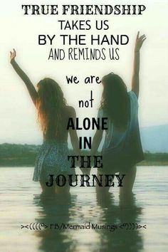 Ur not alone ur bffs are always with u no matter where u r
