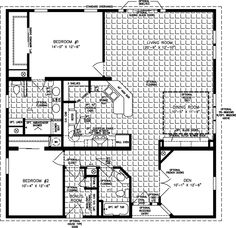 The TNR-7401 - Manufactured Home Floor Plan | Jacobsen Homes
