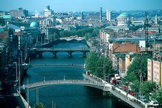 Dublín, una pequeña pero gran ciudad europea. Julio del 2008