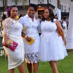 Fashionably Trendy! Leading The Wedding Guests Charge in Exquisite and Elegant Outfits.