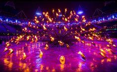 Thomas Heatherwick Cauldron London 2012 Olympics