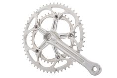 The Holdsworth Gran Sport Crankset is a classic styled crankset with many modern features. Brought to you by one of the UK's most recognisable and historic bike brands Xmas Gifts For Dad, Bike Components, Bike Brands, Modern Materials, Bicycle, Retro, Classic, Vintage, Cycling