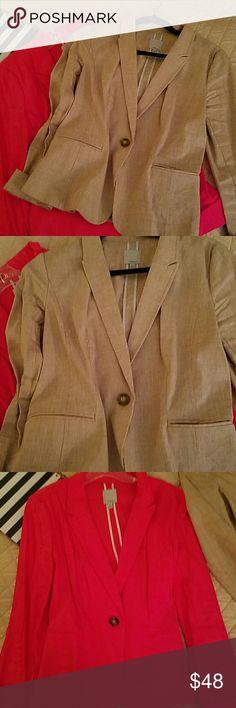 Pink halogen linen blazer Pink halogen blazer.size medium. Fits true to size. From nordstroms. Never worn Halogen Jackets & Coats Blazers