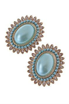 Turquoise Marilyn Earrings