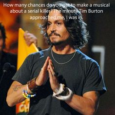 johnny depp quotes  | Quote Pictures Johnny Depp Quote - How many chances do you get to make ...
