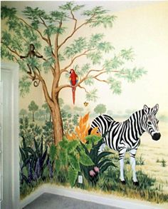 Murals could so do this for Nali's room