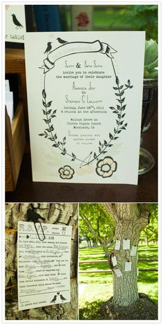 Awesome idea for RSVP cards