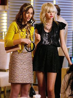 Blair Waldorf Milly yellow cardigan --