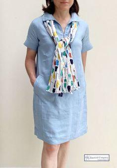 Breton Shirt, Sailor Shirt, Short Sleeves, Short Sleeve Dresses, Fabric Labels, Nautical Fashion, Pastel Blue, Summer Dresses, Sweaters