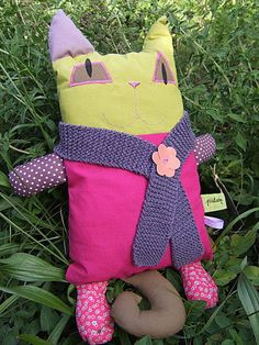 doudou chat Apron, Dolls, Sewing, Blog, Softies, Cats, Baby Dolls, Dressmaking, Couture