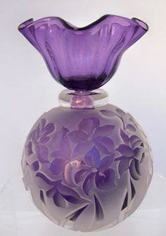 12/16/16 - Dear Gail; I found this lovely floral perfume bottle for you. I love the lilac color and beautiful shape. I hope you like it and use it for your favorite perfume. Wishing you a wonderful day my sweet friend. Love and hugs! xoxo ❤ ~Tomris