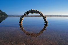 ALLPE Medio Ambiente Blog Medioambiente.org : Las sencillas y magistrales esculturas medioambientales de Martin Hill