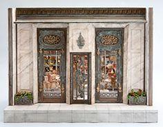 Good Sam Showcase of Miniatures: Dealer Bluette Meloney - Structures & Hand-painted Furniture Miniature Rooms, Miniature Houses, Barbie Shop, Diy Doll Miniatures, Eye Painting, Altered Boxes, Hand Painted Furniture, Little Houses, Dollhouse Furniture