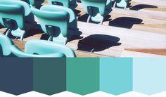 Color Stories: Take a Seat | createcolorstories.com #colour #colorpalette #inspiration #design #teal #indigo #colorscheme #colorstoriesblog #seat