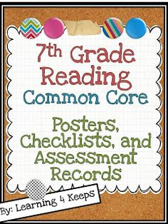 {NEW} Common Core Resources for Middle School