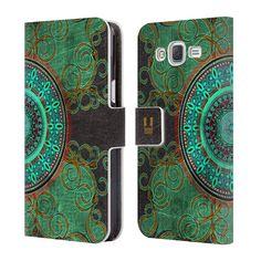 Flipové pouzdro na mobil Samsung Galaxy J5 HEAD CASE ARAB MANDALA