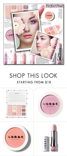 """""""#848 - Pucker Up: Spring Lips {LORAC Cosmetics}"""" by lilmissmegan ❤ liked on Polyvore featuring beauty, KAROLINA, LORAC, NARS Cosmetics, DuÅ¡an, BeautyTrend, Beauty, springbeauty, loraccosmetics and springlips"""