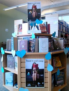 St. Thomas Public Library has a new library display: Read It and Weep. This display is full of books that will move you to tears, be they happy, heartfelt, indignant, righteous, or horrified tears, we suggest you have a box of tissues with you. Don't get us wrong – they're not meant to be depressing. Some of the best books we've ever read have moved us to tears! Well worth a browse - you might find your next favourite read!