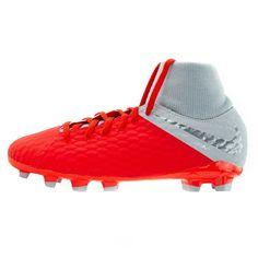 Ποδοσφαιρικό παπούτσι για σκληρές επιφάνειες για μικρά/μεγάλα παιδιά Nike Jr. Hypervenom Phantom III Academy Dynamic Fit FG - AH7287-600 Nike, Cleats, Shoes, Football Boots, Shoe, Shoes Outlet, Soccer Shoes, Footwear, Wedges