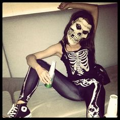 Halloween Skeleton Costume Ideas.