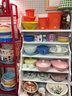 Pyrex and Tupperware