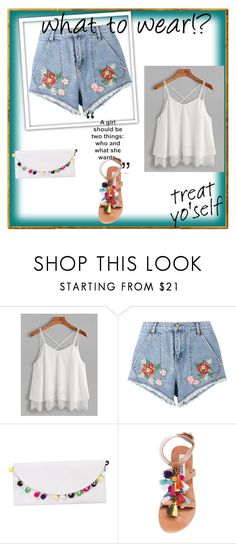 """""""Bez naslova #3"""" by amina-delic321 ❤ liked on Polyvore featuring House of Holland and Steve Madden"""