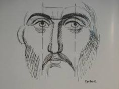 Image result for Christ Pantocrator icon tracings