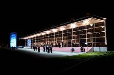 De Boer baute 9.000 m² mobile Eventfläche für das #Firmenjubiläum von #BYK Chemie