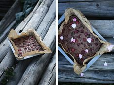 Děvče u plotny - Brownies slískovými oříšky amalinami