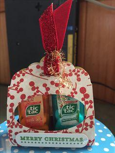 Mini Tictac holder for Christmas