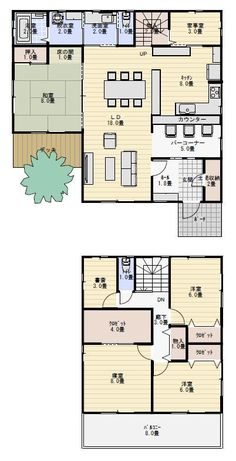 Japanese House, Tiny Living, Home Deco, House Plans, Floor Plans, Layout, House Design, Flooring, How To Plan