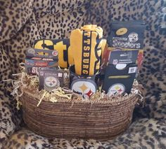 STEELERS FAN~Beach towel, Terrible towel, travel games, playing cards, personal organizer, coffee mug, and coffee.$150.00~Customer order filled.