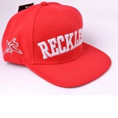 Young And Reckless Snapback Hat Red New With Tags 77ff2ed773ba