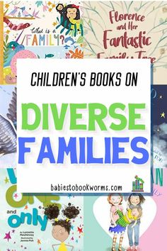 Celebrate different families with this list of children's books on families!